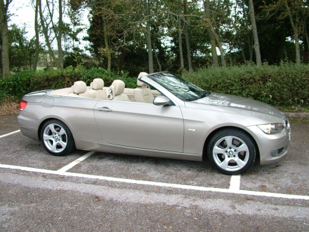 2007 Bmw 325 CREAM LEATHER £6,995