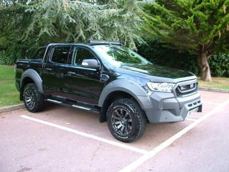 2017 Ford RANGER MOTOR SPORT RT BLACK LEATHER £29,450