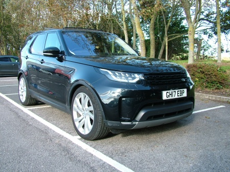 2017 Land Rover  BLACK LEATHER £38,475