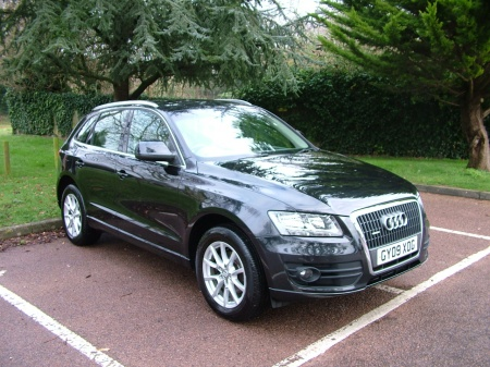 2009 Audi Q5 CREAM LEATHER
