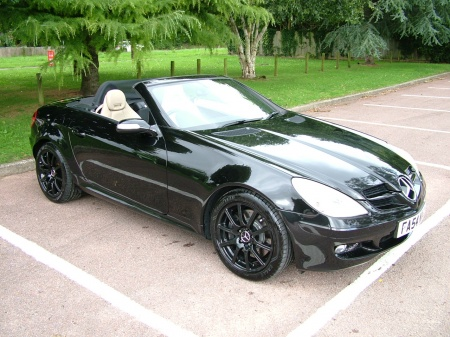 2005 Mercedes SLK 350 LINEN LEATHER