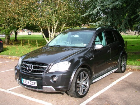 2008 Mercedes ML63 AMG GREY LEATHER