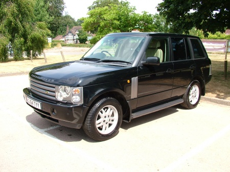 2004 Land Rover RANGE ROVER VOGUE TD6 AUTO CREAM LEATHER £10,950
