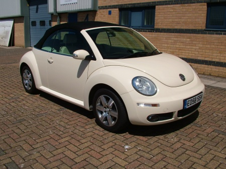 2008 Vw New beetle CREAM LEATHER