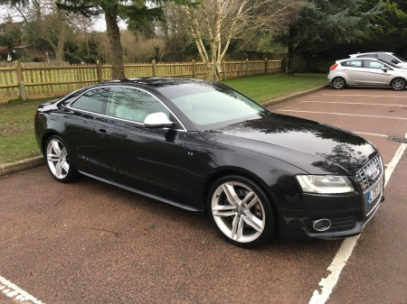 2007 Audi A5 S5 4.2 V8 MANUAL COUPE CREAM LEATHER £7,995