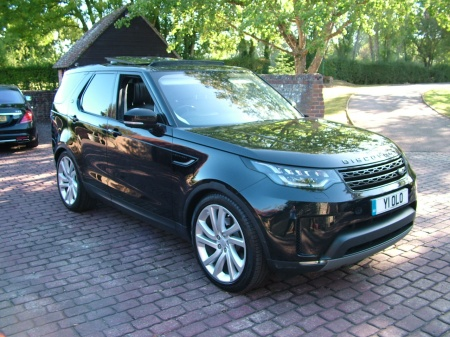 2017 Land Rover DISCOVERY 1ST EDITION BLACK LEATHER £39,990