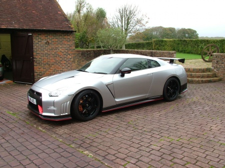 2015 Nissan Gt-r BLACK/RED ALCANTARA £124,995