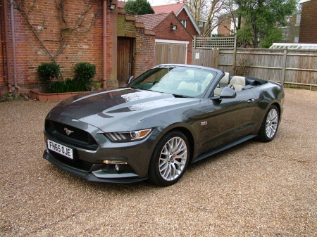 2015 Ford Mustang LINEN LEATHER £28,950